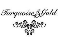 Turquoise & Gold Coupon